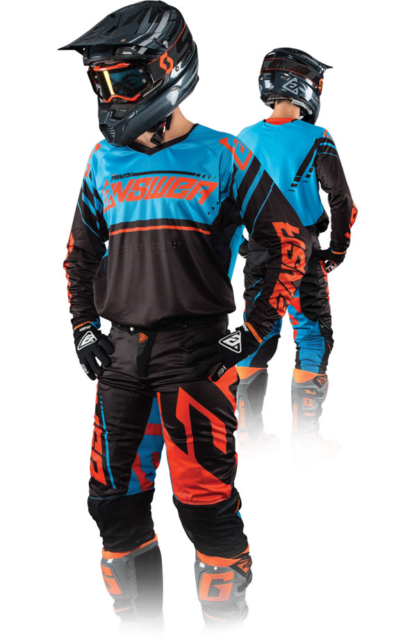 Super MX Riding Gear And Accessories - Answer Racing - ANSR RW09