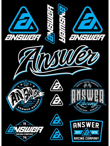 ANSWER STICKER KIT