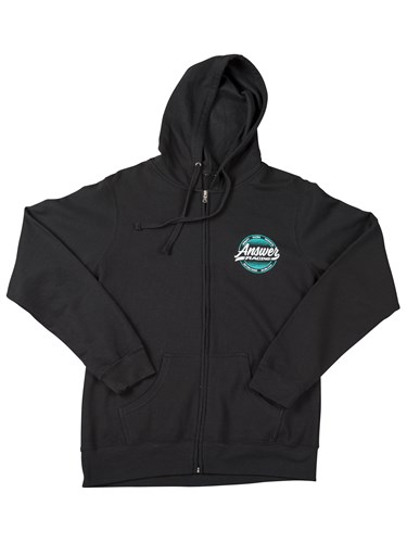 DERBY WOMENS ZIP UP HOODIE
