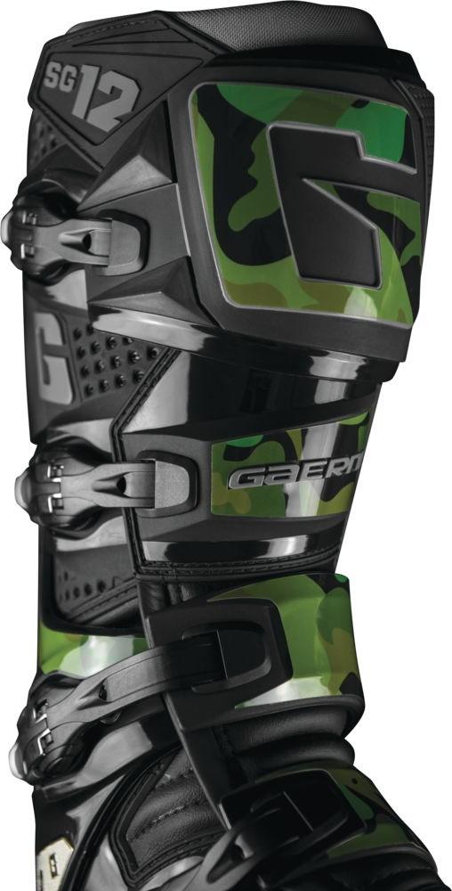 Gaerne SG-12 Boot Sticker Kit Army Camo